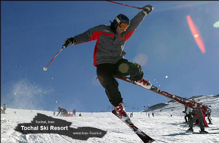 Iran Ski Tours - Tochal Ski Resort